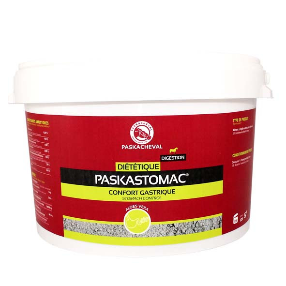 produit paskacheval paskastomac confort estomac ulcere digestion cheval