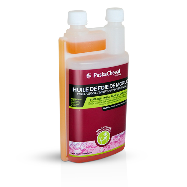 paskacheval product Cod-liver oil omega 3 horses