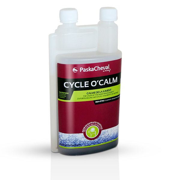 product Cycle O Calm Paskacheval mitigate mare reactions to stress