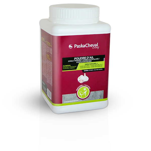 paskacheval product garlic powder 1kg horse immunity