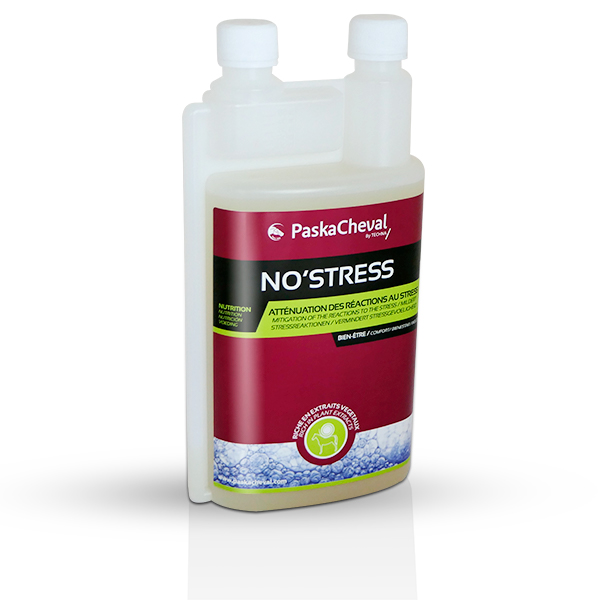 paskacheval product No'stress mitigate reactions to stress for horses