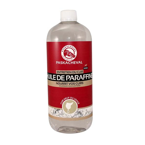 Paraffin oil leather horse