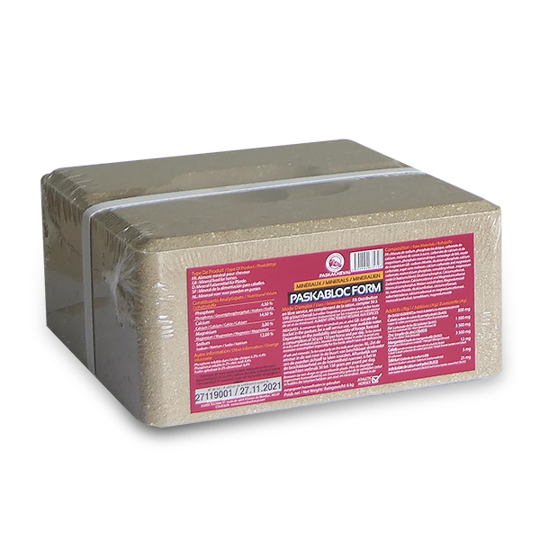 paskacheval product Paskabloc form mineral supplementation