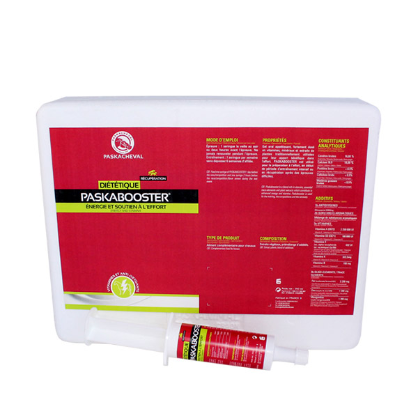 Product Paskacheval Paskabooster gel booster energy and stamina for horses