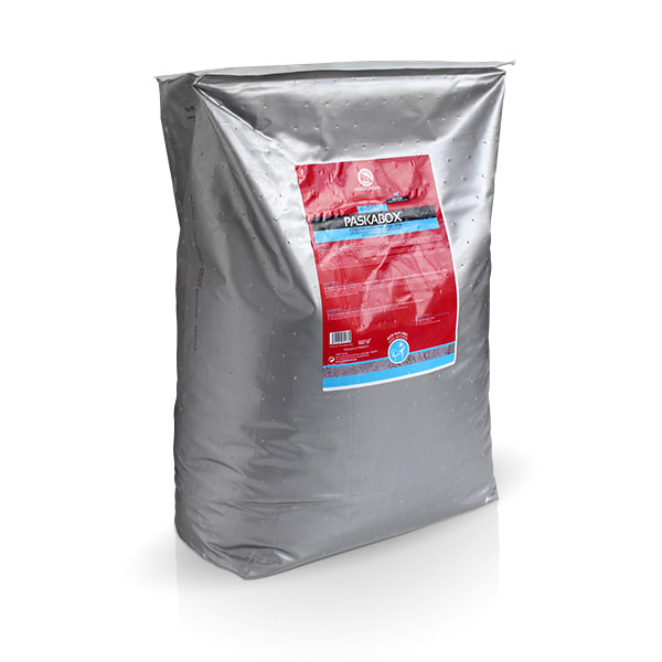 product Paskabox Paskacheval to dry litters and disinfect horse stable