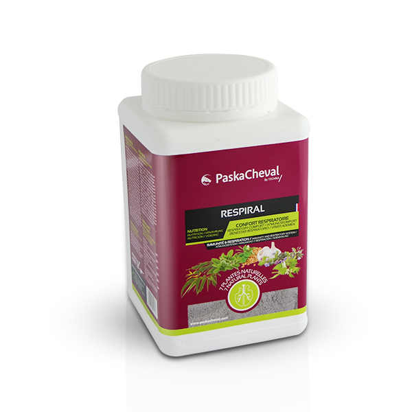 paskacheval product respiral 1kg powder cough respiratory stress comfort plants horses