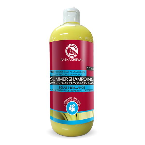Produit Paskacheval summer shampoing robe cheval ete citronnelle